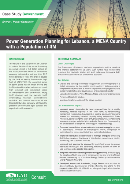 PowerGenerationPlanningLebanon